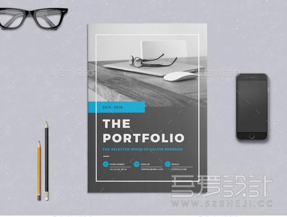 24P企业商务团队宣传InDesign画册模板