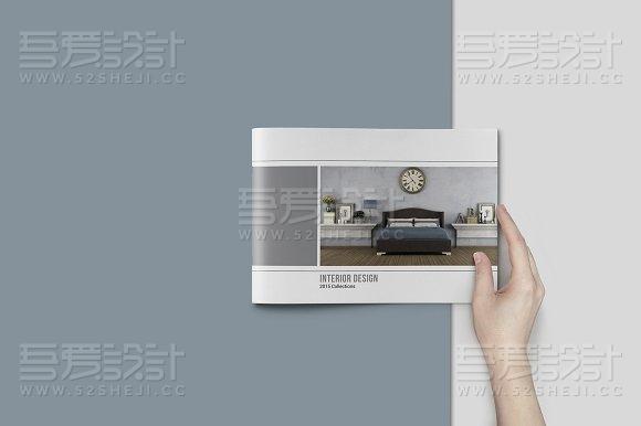 居家装修产品展示InDesign+PS画册模板