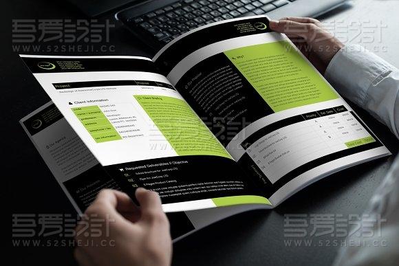 产品说明手册纯文字画册模板