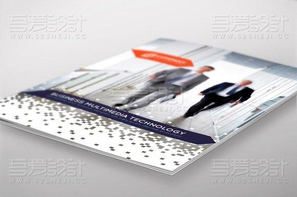 高端大气商务合作多用途画册模板