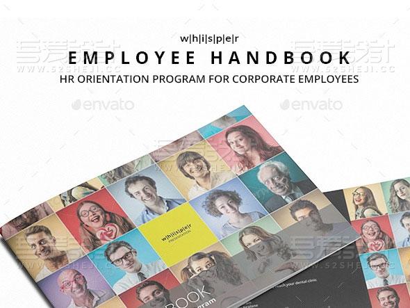 30页团队人员介绍多用途画册模板