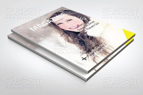 30页企业商务杂志通用画册模板