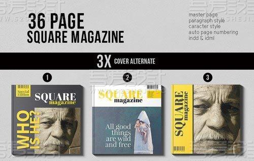 36页企业通用杂志画册模板