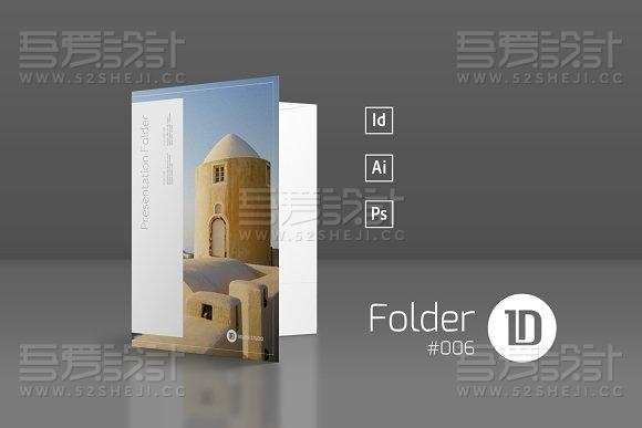 摄影写真文件夹模板
