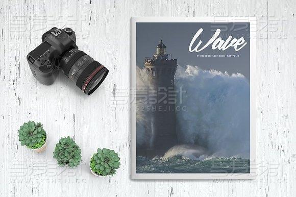 图片展示杂志画册模板