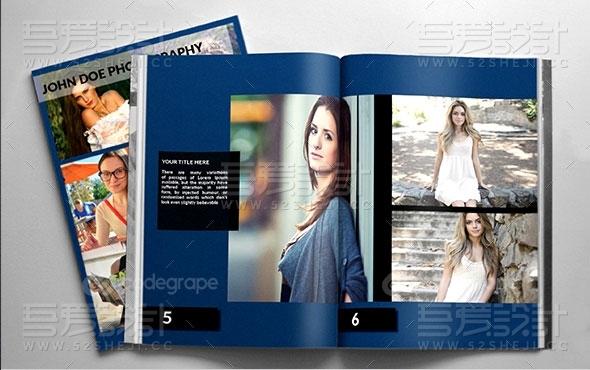 摄影写真画册模板