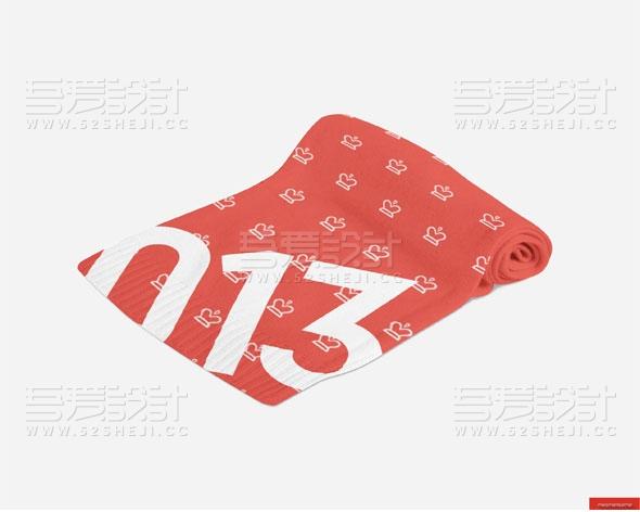 12款围巾设计PSD效果贴图模板
