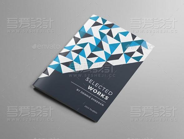 创意企业宣传画册模板