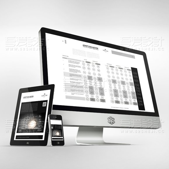 黑白创意企业宣传画册模板