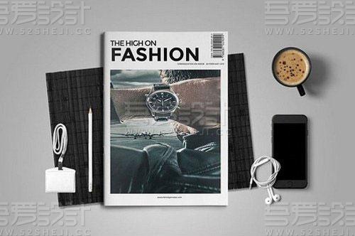 产品展示杂志画册模板