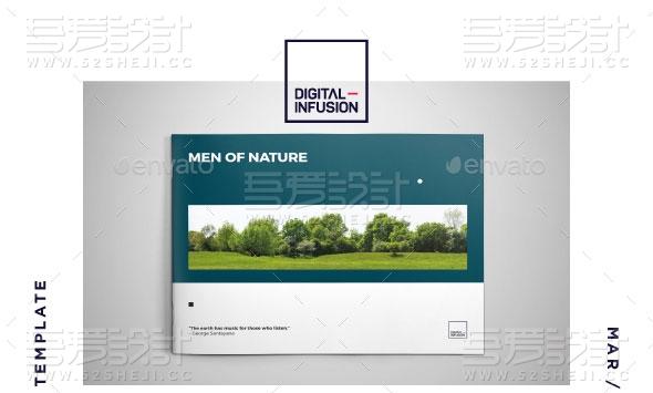摄影写真宣传画册模板
