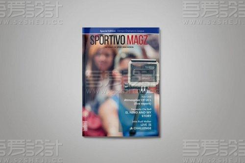 高端杂志宣传画册模板