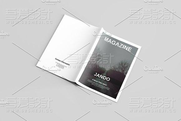 多用途杂志画册模板