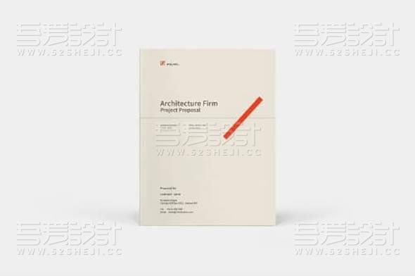 简约团队介绍企业宣传画册模板