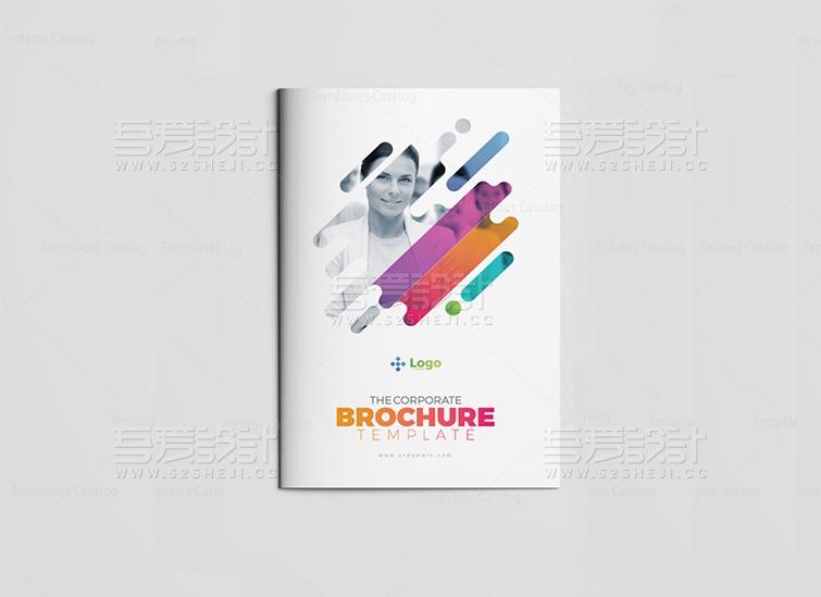 简约唯美企业宣传画册设计模板