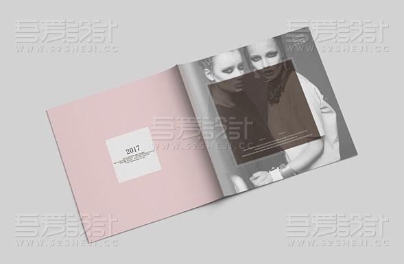 简约欧式大气风时尚画册设计模板
